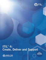ITIL® 4 Create Deliver and Support (CDS) guidance