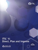 ITIL® 4 Direct Plan and Improve (DPI) book
