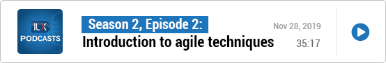S2E2: An introduction to agile techniques
