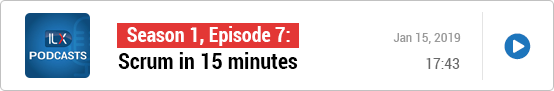 S1E7: Scrum in 15 minutes