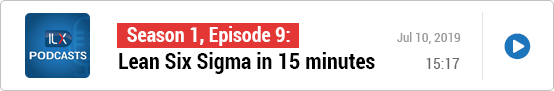 S1E9: Lean Six Sigma in 15 minutes