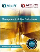 Management of Risk Pocketbook