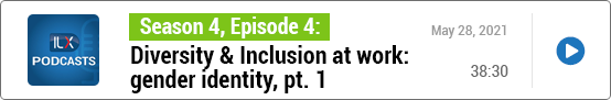 S4E4 Diversity & Inclusion at work: gender identity, pt. 1