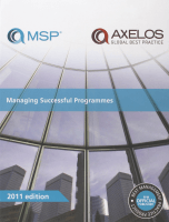 Managing Successful Programmes (MSP®) 2011 Edition